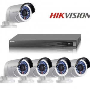 Free Shipping Digital Video Surveillance Hikvision Module NVR IP Security CCTV Camera Kit System 8CH POE