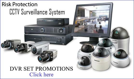 DVR CCTV set promotions Bangkok