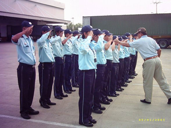 bangkok security guards training